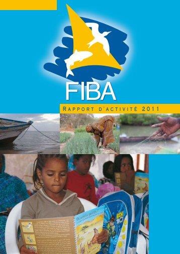 Rapport d'activité 2011 - Fondation Internationale du Banc d'Arguin