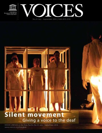 Voices July-Sep.pdf - UNESCO Islamabad