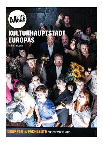 KULTURHAUPTSTADT EUROPAS - Mons 2015