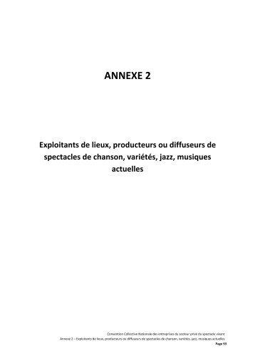 ANNEXE 2 - tableau salaires a intégrer