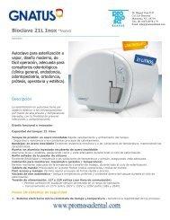 Bioclave 21L Inox *Nuevo - promosa dental
