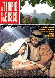 Dio ha tanto amato il mondo da dare il suo Figlio ... - Colle Don Bosco