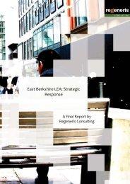 East Berkshire LEA: Strategic Response - The Royal Borough of ...