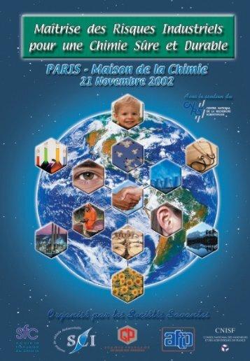 Télécharger la plaquette au format PDF - Société de Chimie ...