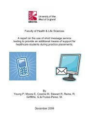 Evaluating SMS texting as a support mechanism for students whilst ...