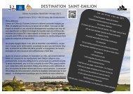 Rapport Assemblée Générale 2011 - Saint-Emilion