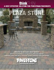 to download product information sheet. - Pavestone