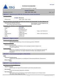 EG-Sicherheitsdatenblatt