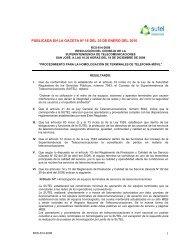 Homologación de Terminales Móviles publicada en el ... - Amcham