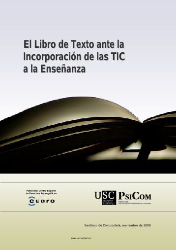 El Libro de Texto ante la Incorporación de las TIC a la Enseñanza
