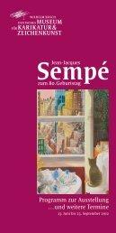 Programm zur Ausstellung …und weitere Termine - Wilhelm Busch.de