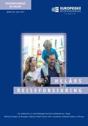 REISEFORSIKRING HELÅRS - If forsikring AS