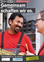 Gemeinsam schaffen wir es. - Caritas Aargau