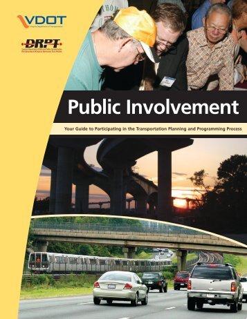 Public Involvement Process - Virginia Department of Transportation