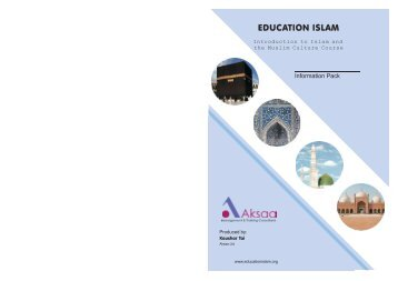 Introduction to Islam and the Muslim Culture Course - Multifaiths.com