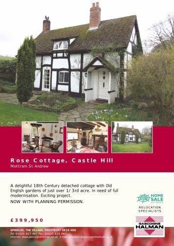 Rose Cottage, Castle Hill