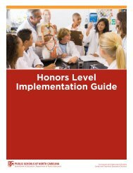 Honors Rubric and Implementation Guide pdf - Wayne County ...
