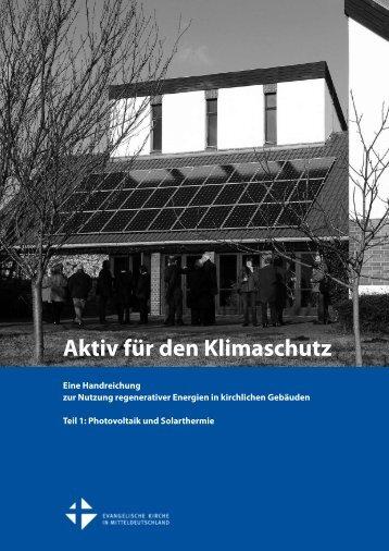 Aktiv für den Klimaschutz - Lothar Kreyssig - Ökumene-Zentrum