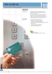 Elektronischer Schlüsselschalter EKS 42 / EKS 50 - SCHAEFER