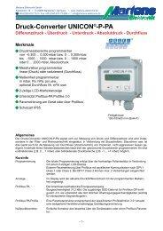 UNICON-P-PA-V1_10_2_17- Prospekt - Martens Elektronik GmbH
