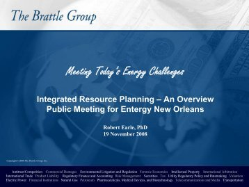 IRP General Overview - Entergy New Orleans, Inc.