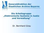 Elektronische Systeme in Justiz und Verwaltung