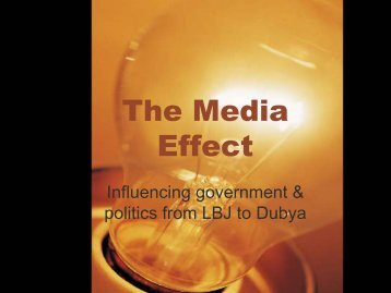 The Media Effect - ZUSAS