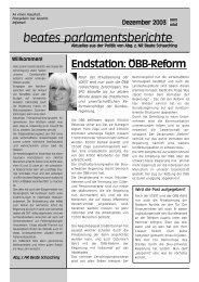 Dezember 2003 - beate raabe-schasching - SPÖ