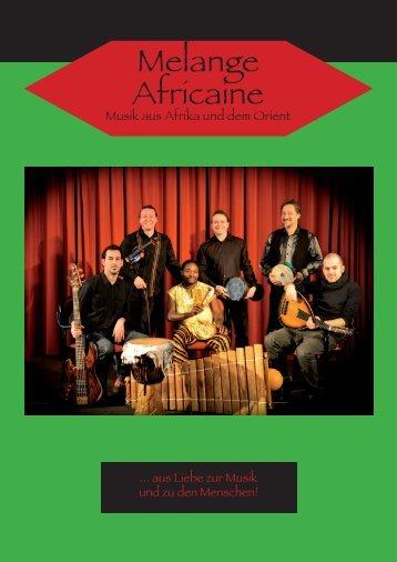 Melange Africaine - Gerhard Reiter