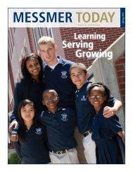 MESSMER TODAY Sprin - Messmer Catholic Schools