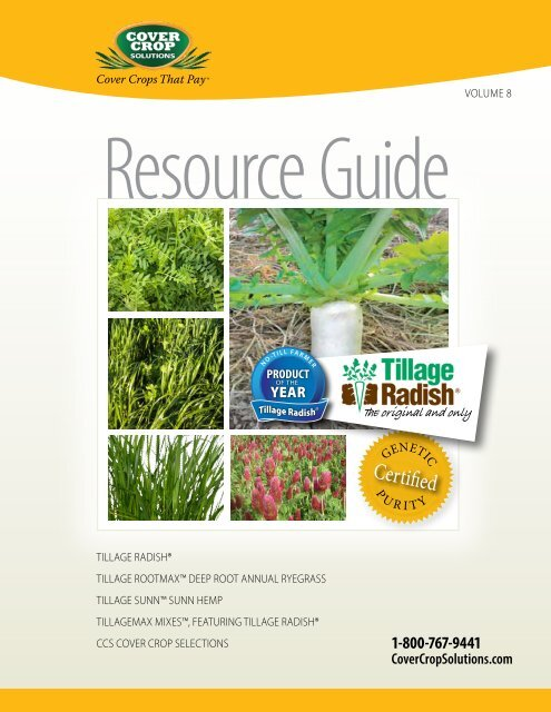 Tillage Radish® Resource Guide - Cover Crop Solutions