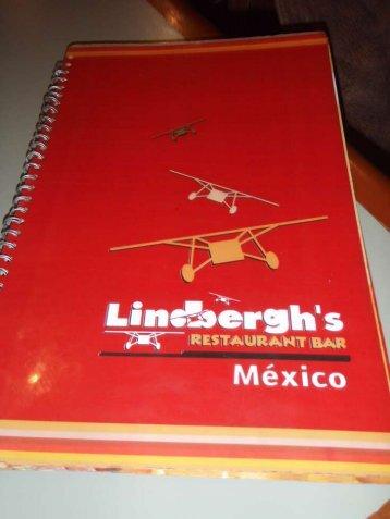 View Lindbergh's menu (PDF file) - Casa de la Armonia, Huatulco ...
