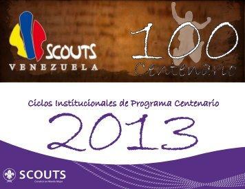 Ciclos Institucionales de Programa Centenario - Scouts de Venezuela