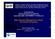 Water Resource Management in Brazil: The Federal ... - INBO