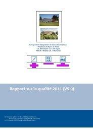 Groupement Hospitalier de l'Ouest Lémanique Hôpitaux de Nyon et ...