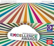 Awards flyer - Chartered Institute of Housing