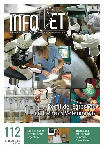 InfoVet N° 112 - Facultad de Ciencias Veterinarias - Universidad de ...