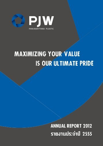 Panjawattana Plastic Public Company Limited