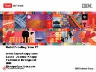 BulletProofing IT (Comdex 2002) - Laura Jeanne Knapp
