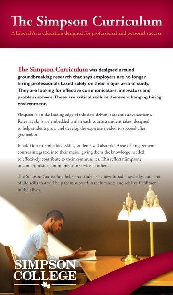 The Simpson Curriculum