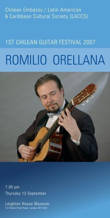 ROMILIO ORELLANA - LACCS