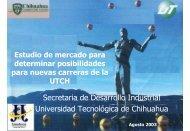 Secretaria de Desarrollo Industrial Universidad Tecnológica de ...