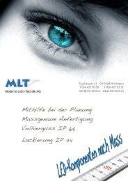 Katalog Download PDF - MLT Licht-Technik AG