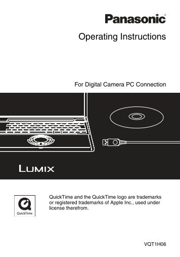 For Digital Camera PC Connection - Operating Manuals for ...