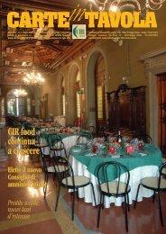 n. 2 - giugno 2008 - CIR Food
