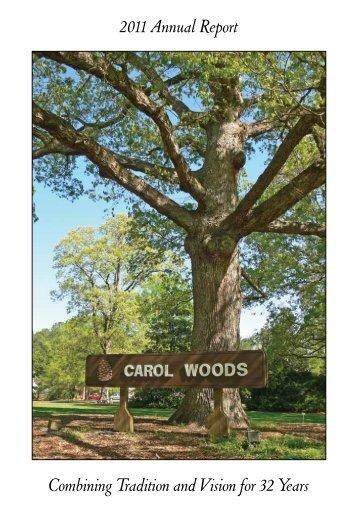 2011 Annual Report - Carol Woods Retirement Community