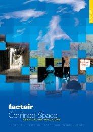 Confined Space Ventilation Brochure - Factair