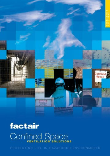 Confined Space Ventilation Brochure - Factair