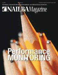 Performance Monitoring - Nailba
