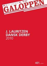 J. LAURITZEN DANSK DERBY 2010